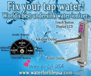 water ionizer antioxidants